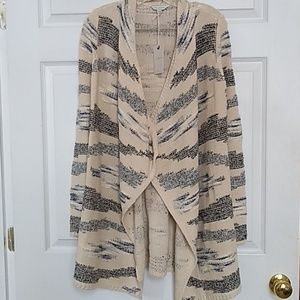 NWT Lucky Brand Open Front Cardigan ,sz. Xs